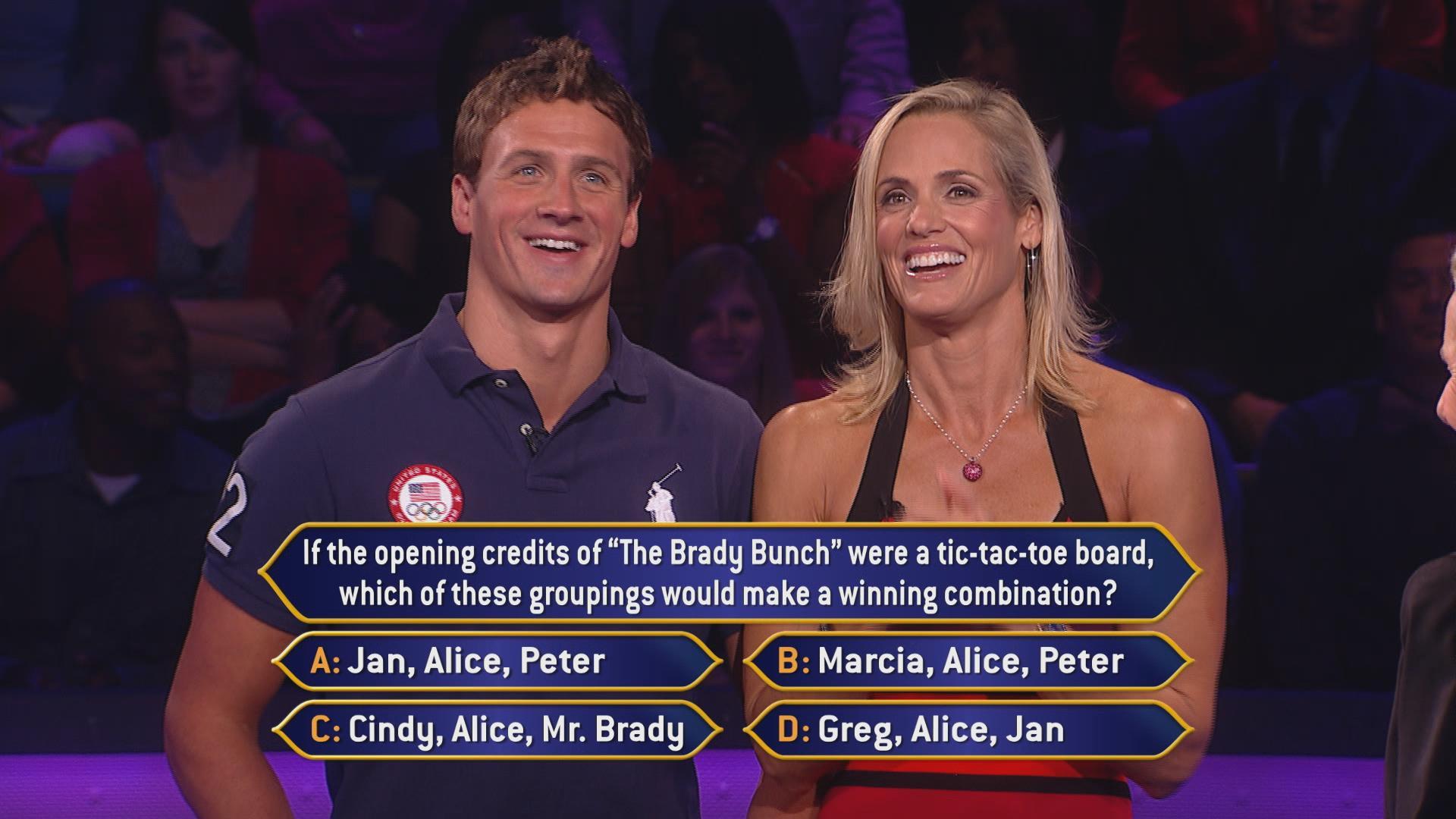 Brady Brunch Halts Ryan Lochtes Run On Millionaire