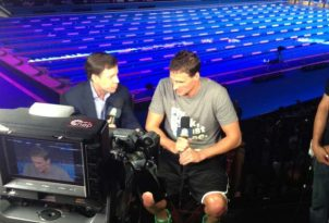 Ryan interviewed by Bob Costas
