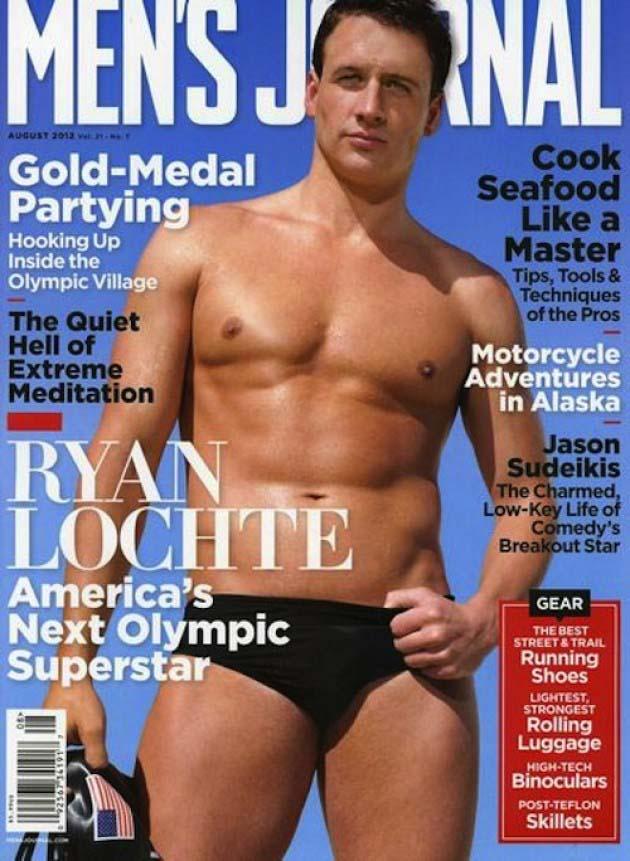 August Men's Journal - Ryan Lochte