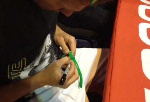 Ryan Lochte Autograph Signing