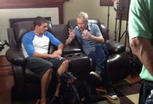 Ryan's NBC interview with John McEnroe which will air during the Olympics