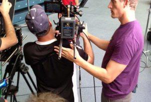NBC commercial shoot