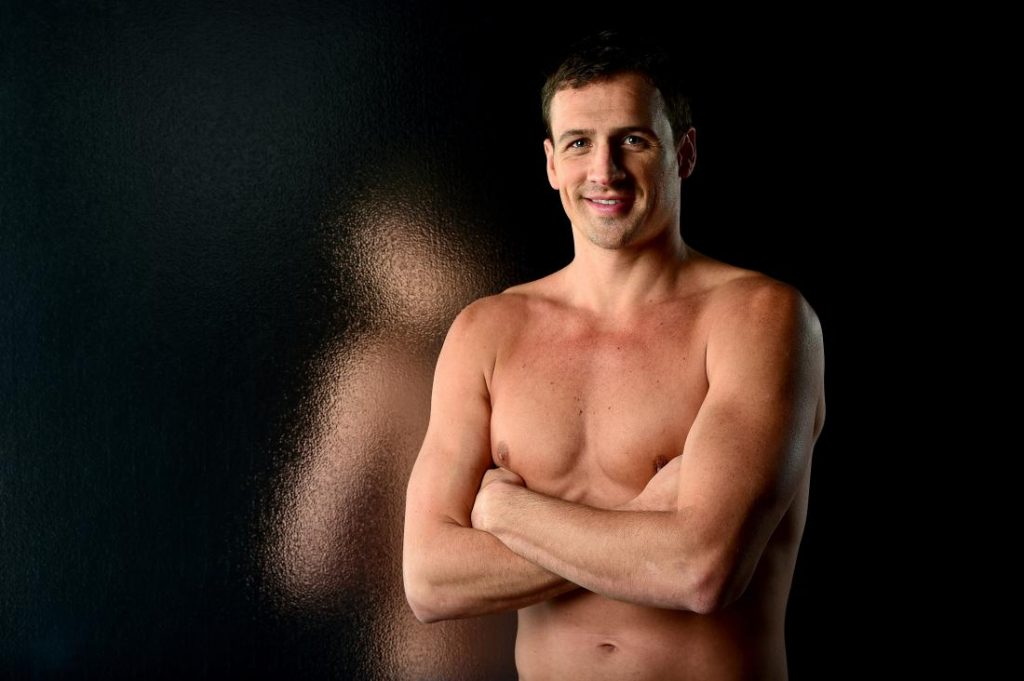 LOS ANGELES, CA - NOVEMBER 17:  Swimmer Ryan Lochte poses for a portrait at the USOC Rio Olympics Shoot at Quixote Studios on November 17, 2015 in Los Angeles, California.  (Photo by Harry How/Getty Images)